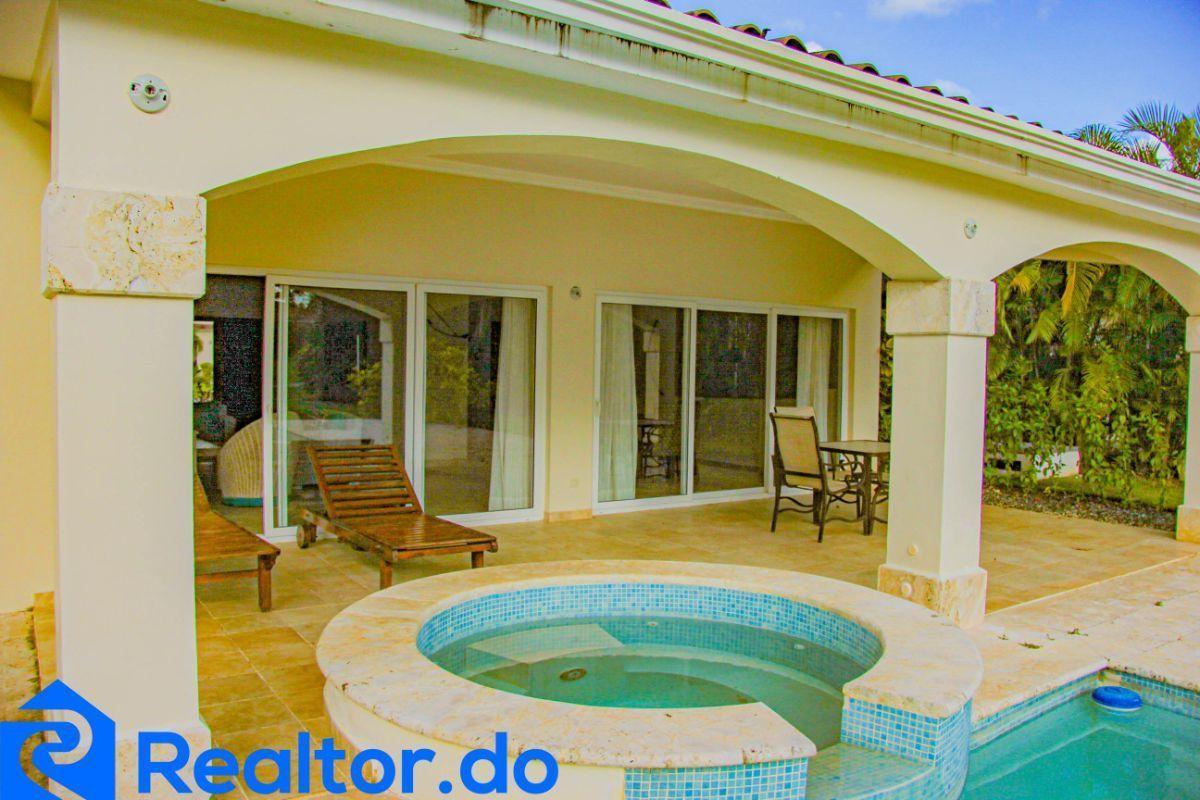 7 de 46: villa en punta cana alquiler vacacional 3 dormitorios piscin