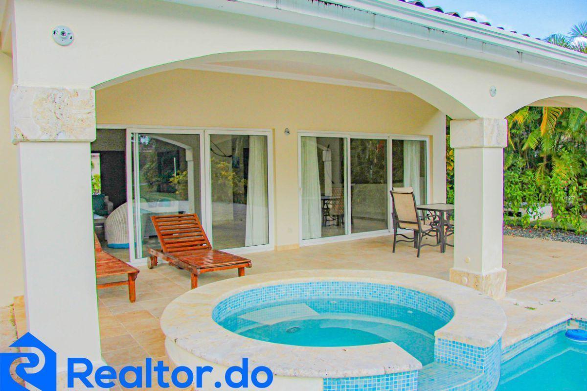 8 de 46: villa en punta cana alquiler vacacional 3 dormitorios piscin