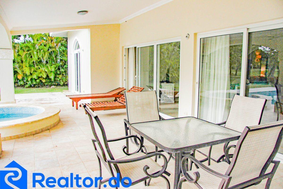12 de 46: villa en punta cana alquiler vacacional 3 dormitorios piscin