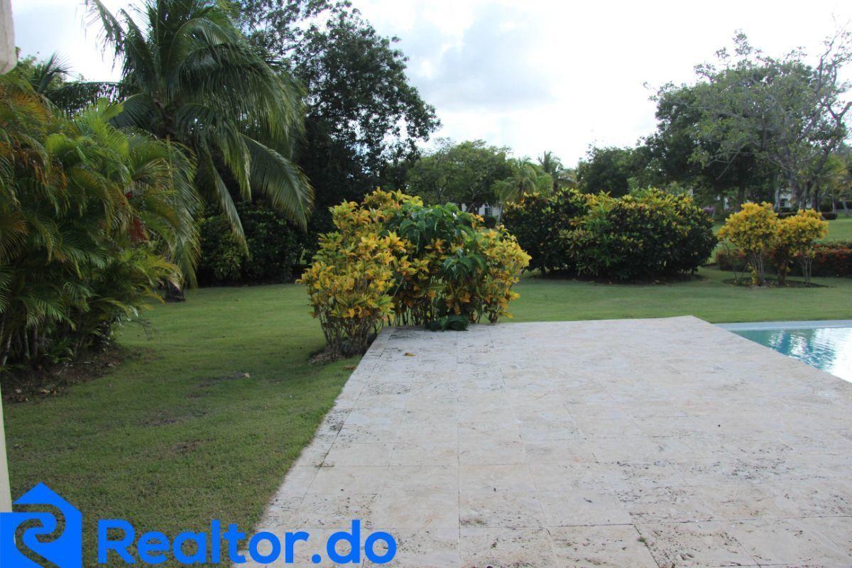 15 de 46: villa en punta cana alquiler vacacional 3 dormitorios piscin