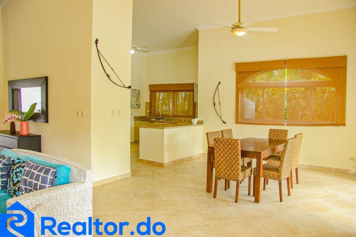 16 de 46: villa en punta cana alquiler vacacional 3 dormitorios piscin