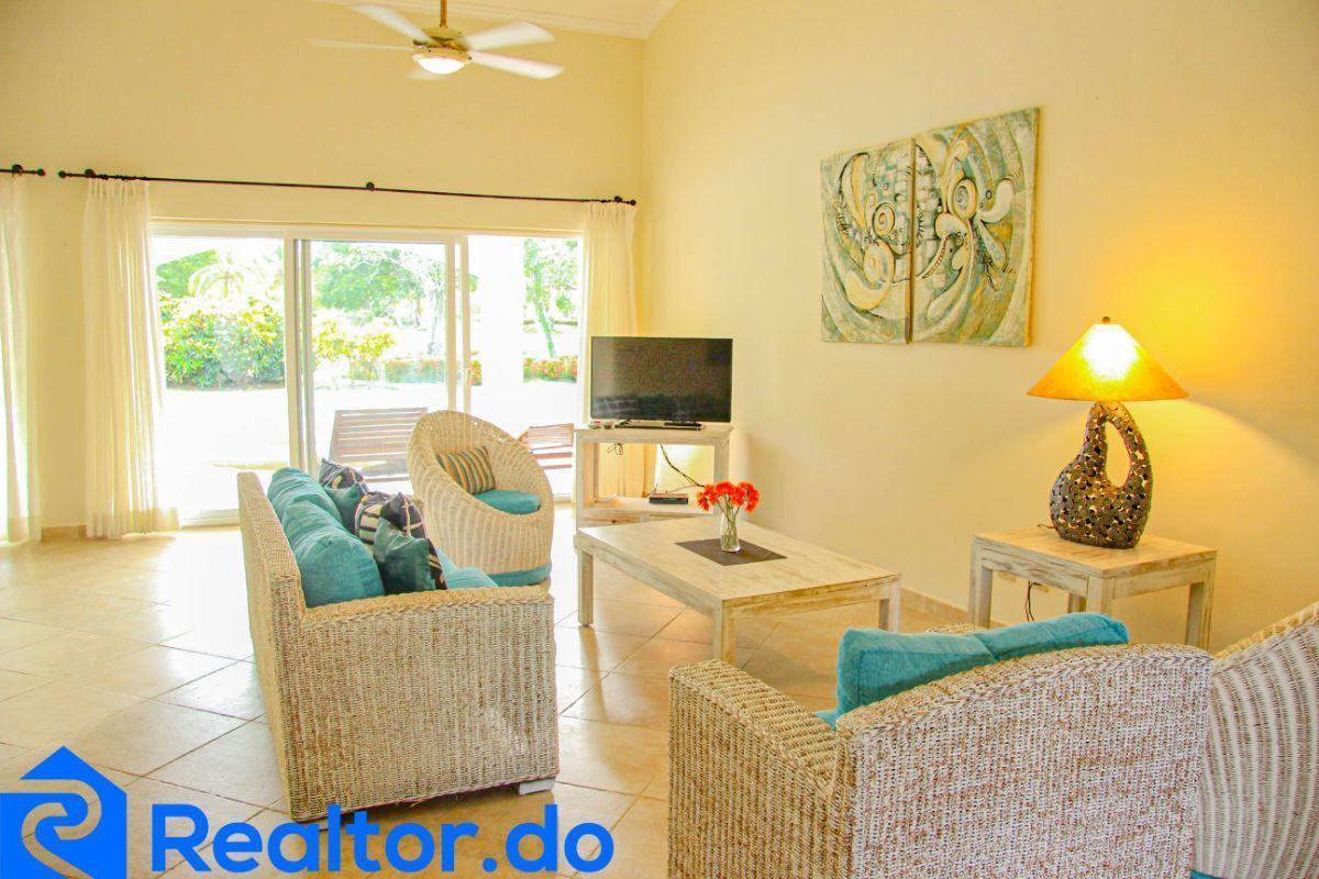17 de 46: villa en punta cana alquiler vacacional 3 dormitorios piscin