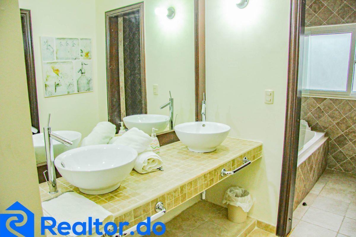 28 de 46: villa en punta cana alquiler vacacional 3 dormitorios piscin