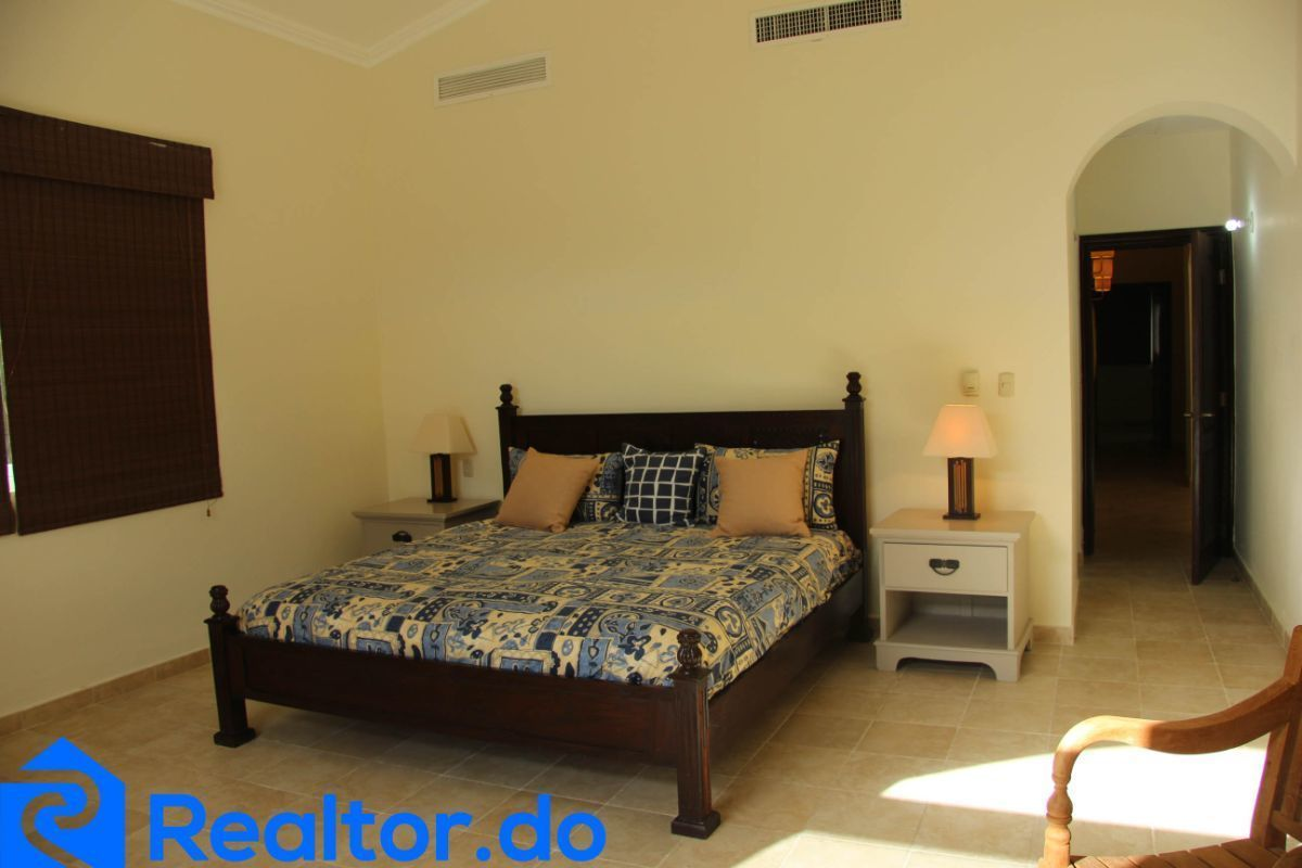 35 de 46: villa en punta cana alquiler vacacional 3 dormitorios piscin