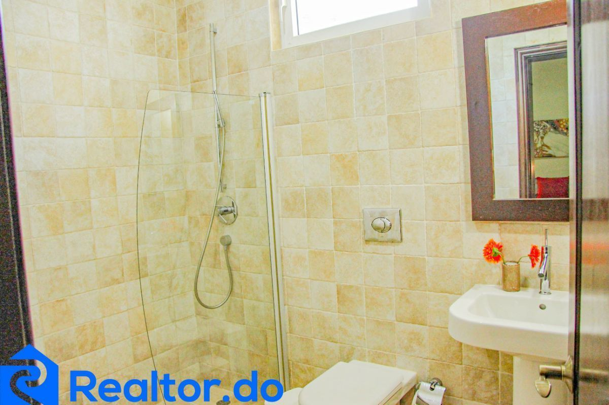 44 de 46: villa en punta cana alquiler vacacional 3 dormitorios piscin