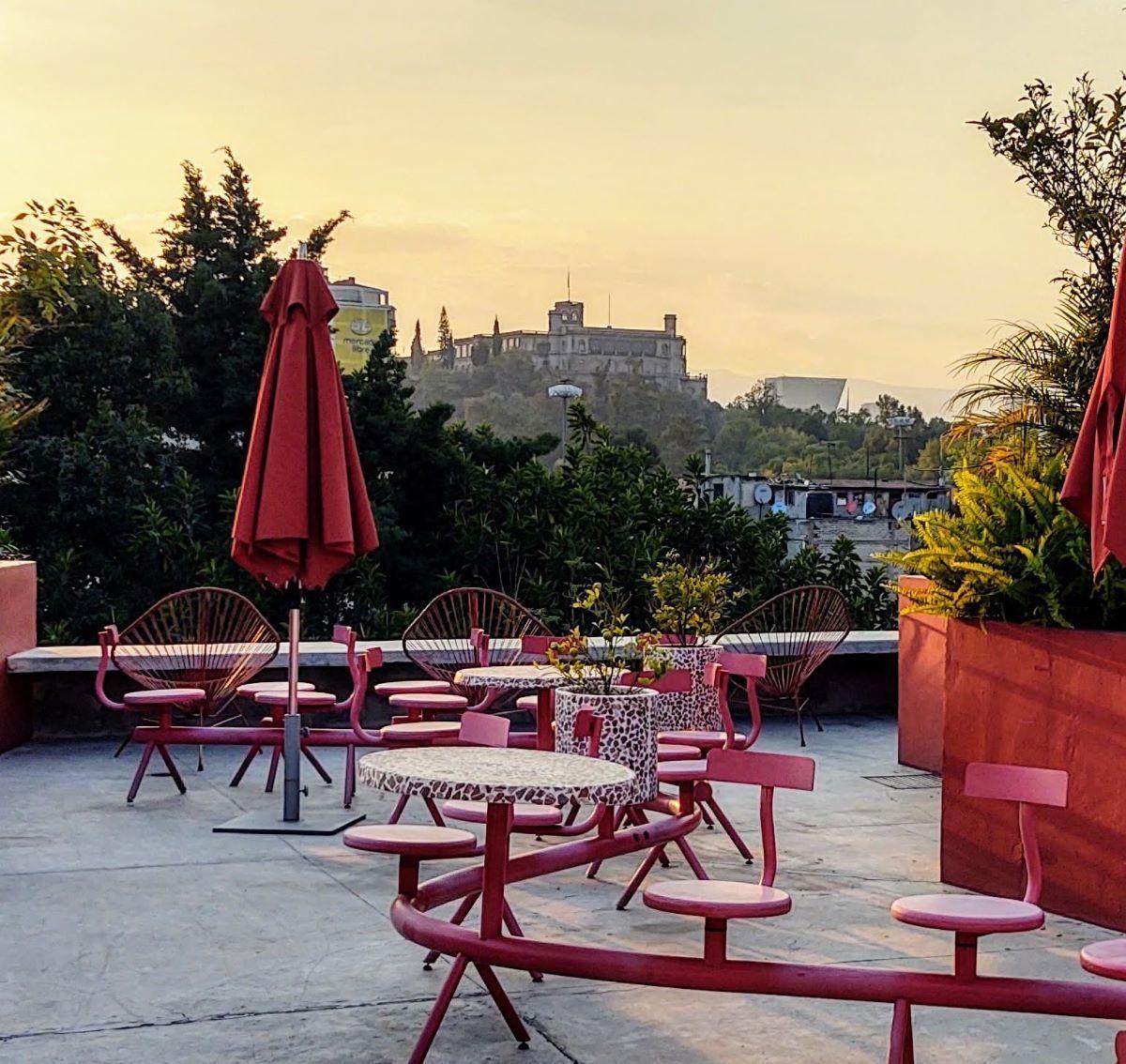 12 de 14: Vista al Castillo de Chapultepec