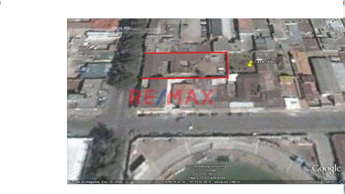 Remax real estate, Guatemala, Quetzaltenango, Casa Para Uso Comercial