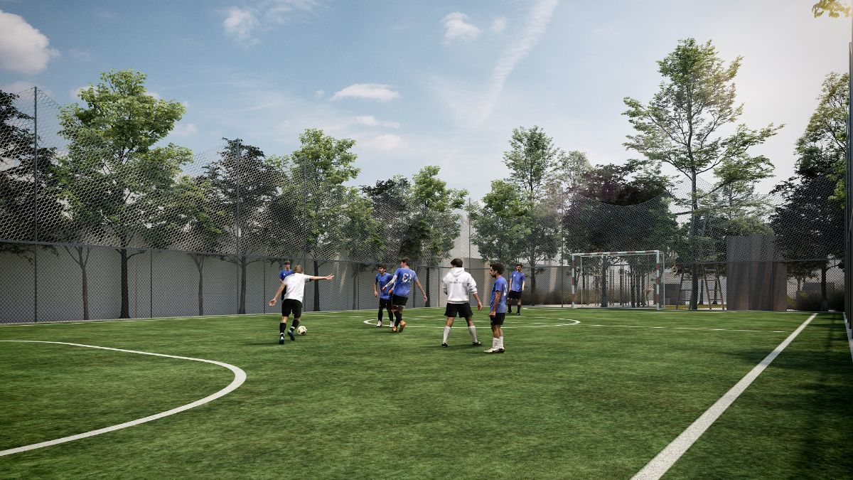 2 de 7: Cancha Futbol 7 Imagen ilustrativa