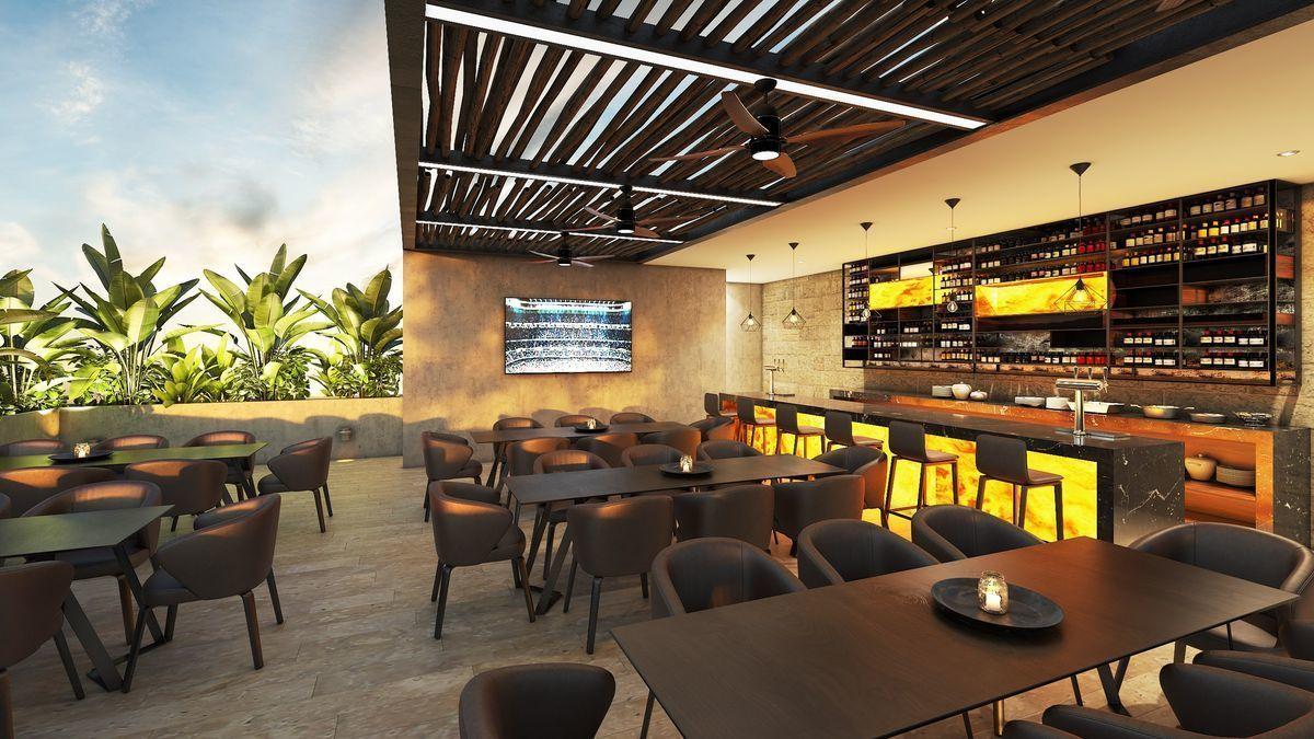 5 de 15: Terraza bar