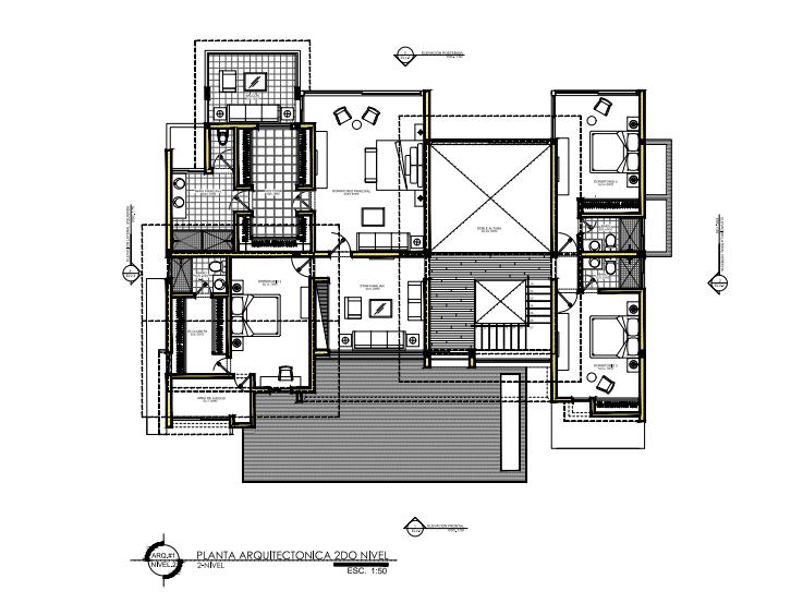 3 de 6: Plano Arquitectónico 2do nivel