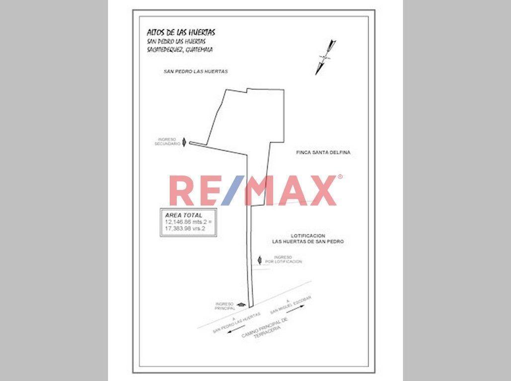 Remax real estate, Guatemala, La Antigua Guatemala, Terreno en Venta San Pedro Las Huertas, a 2.5 km del Calvario Antigua Guatemala