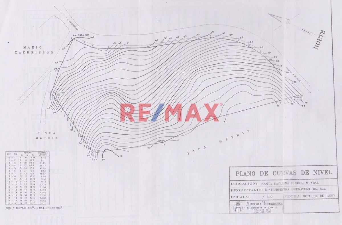 Remax real estate, Guatemala, Santa Catarina Pinula, Excelente Terreno para Desarrollar en Muxbal.