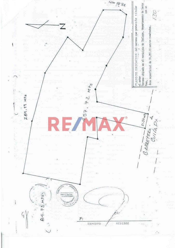 Remax real estate, Guatemala, Cuilapa, Terreno bien ubicado , Cuilapa Santa Rosa. Venta.