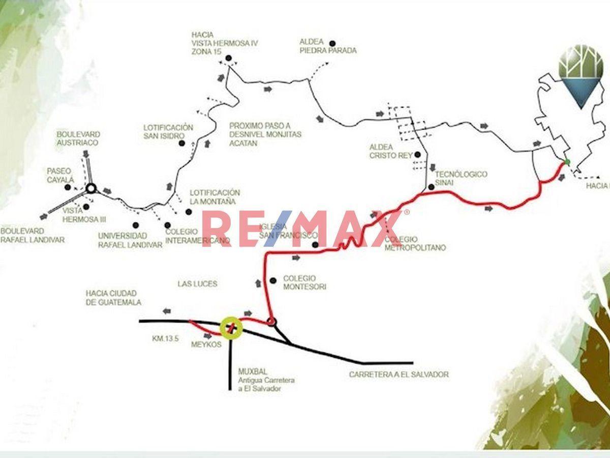 Remax real estate, Guatemala, Road to El Salvador, VIVE RODEADO DE BOSQUE, AIRE PURO Y TU PROPIA LAGUNA NATURAL