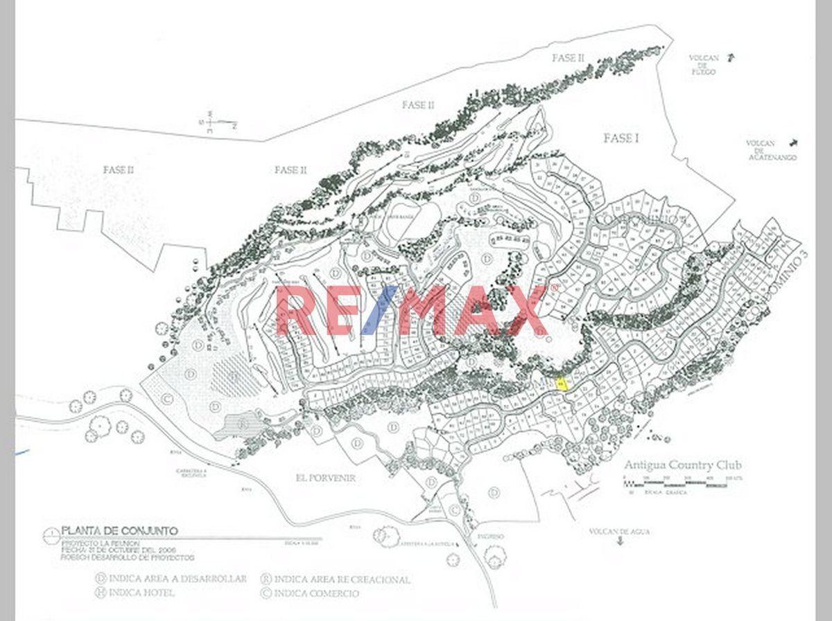 Remax real estate, Guatemala, La Antigua Guatemala, VENDO TERRENO EN LA REUNIÓN