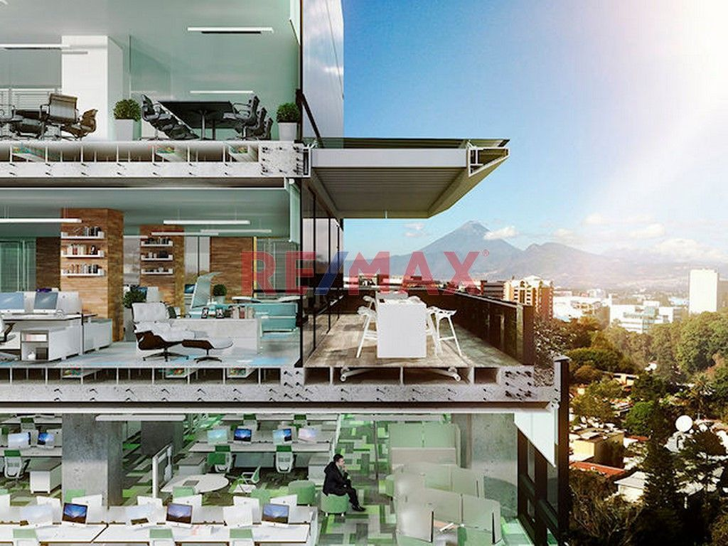 Remax real estate, Guatemala, Zona 10, Z.10 Oficinas en Venta Optima Centro de Negocios