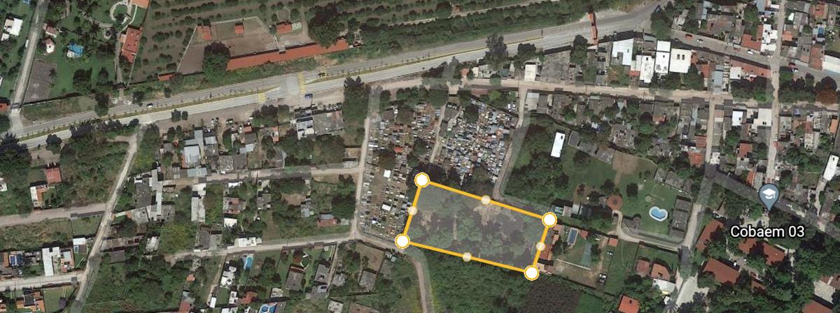 4 de 4: terreno adjunto a panteón municipal.