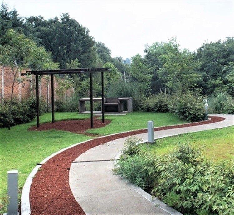 31 de 37: Áreas verdes y asador