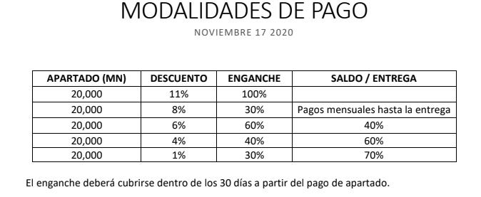 8 de 9: MODOS DE PAGO