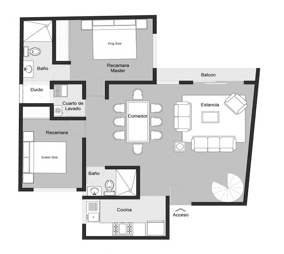 16 de 35: Pent House 2