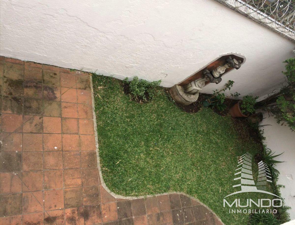11 de 12: Jardín y piso tipo baldosa en patio