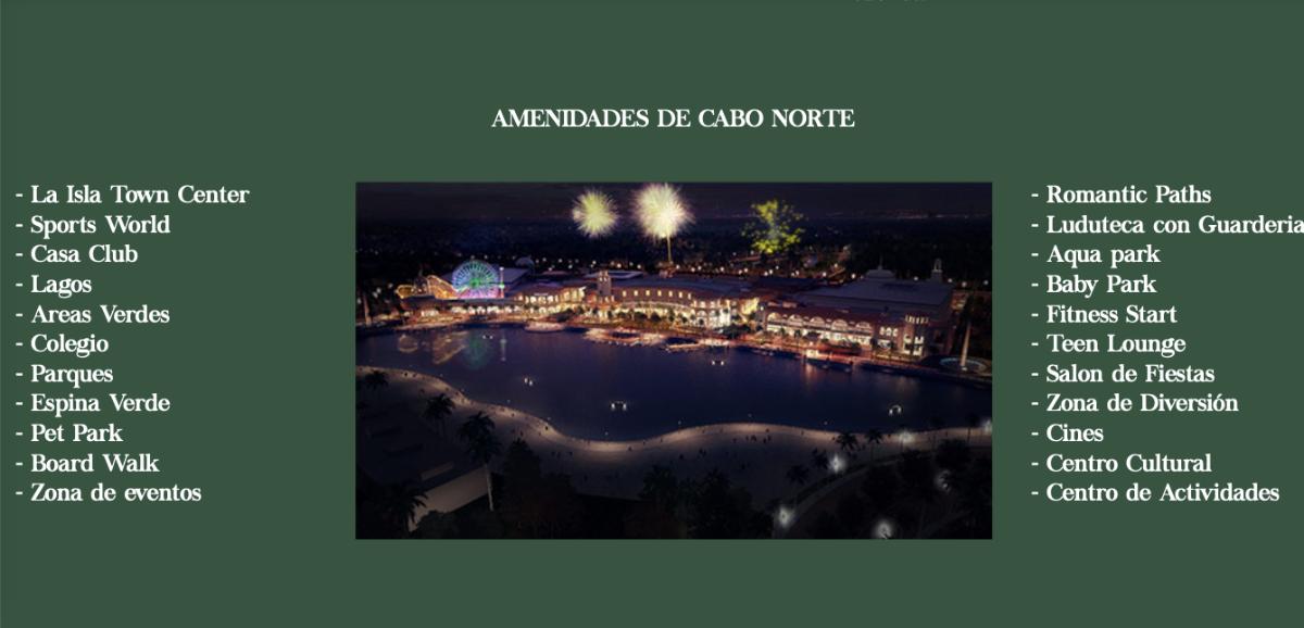 26 de 26: AMENIDADES CABO NORTE