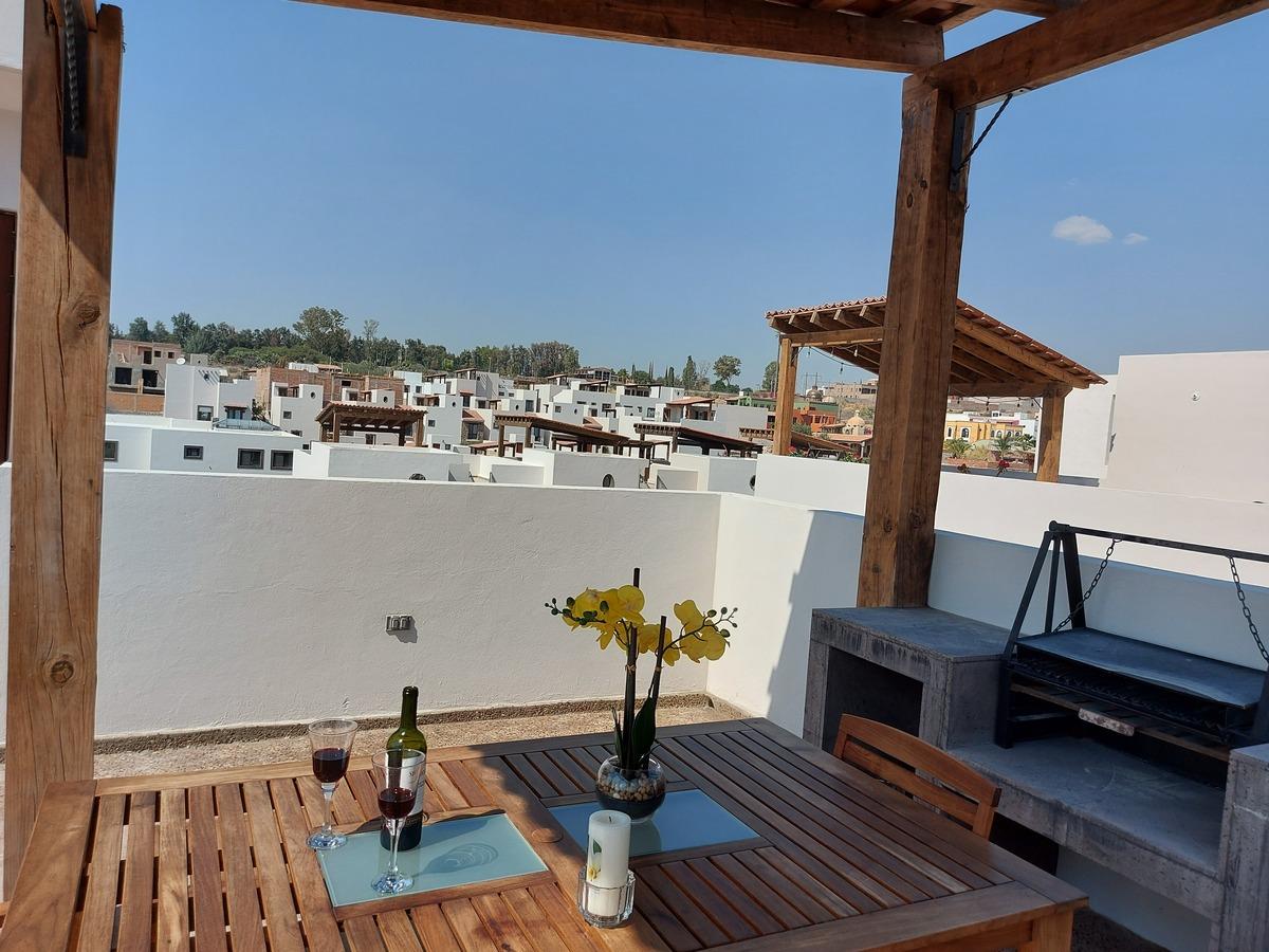 1 de 20: Apacible vista desde el Roofgarden