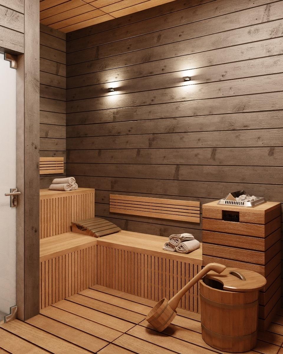 3 de 23: Sauna seco