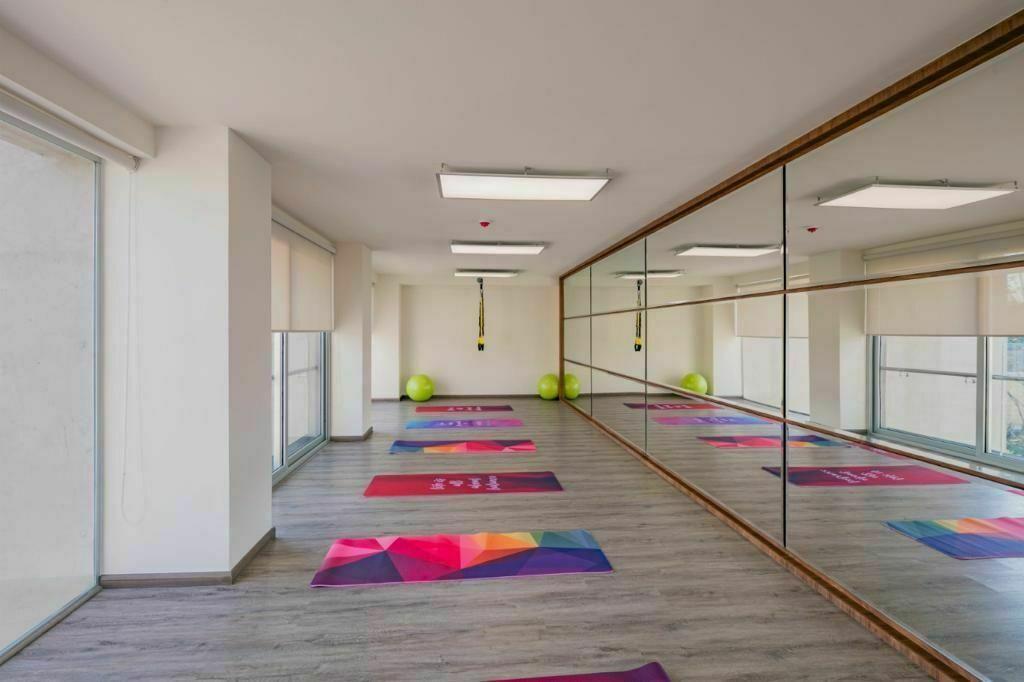 10 de 13: Yoga center