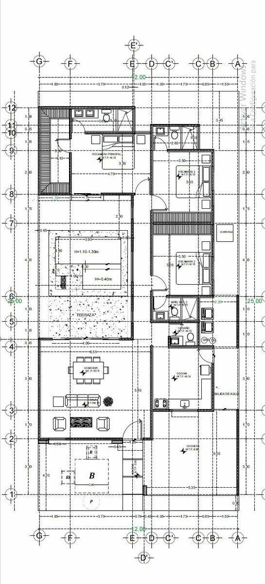 4 de 10: Plano Arquitectónico