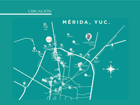 5 de 5: Terreno en venta en Cholul 103,Mérida Yucatán