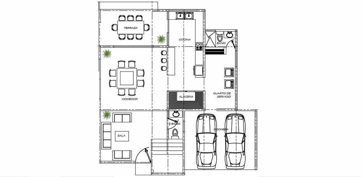 6 de 18: Plano Arquitectónico Planta Baja