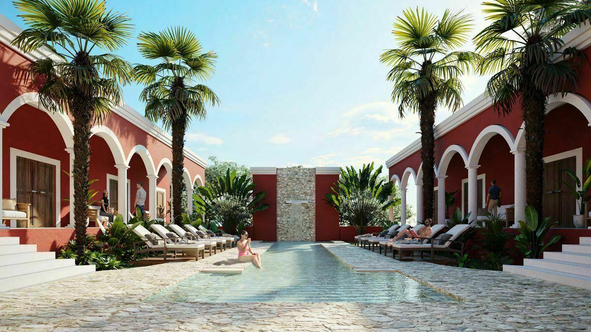 28 de 30: Casa club con piscina