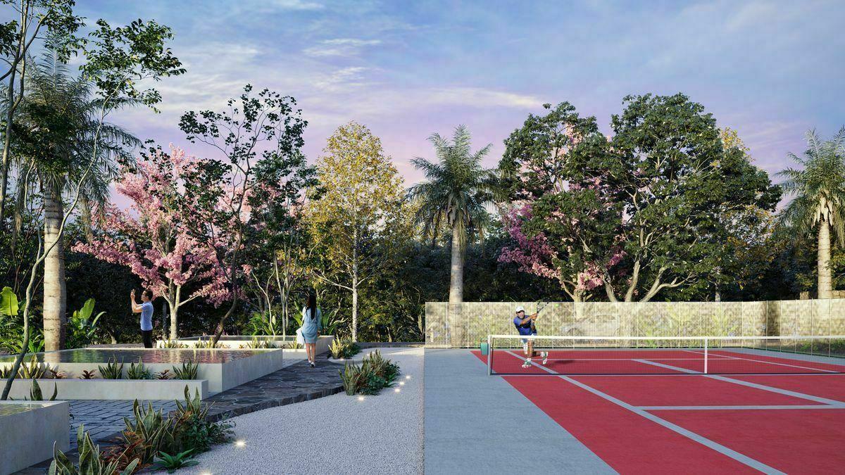 29 de 30: Cancha de tenis