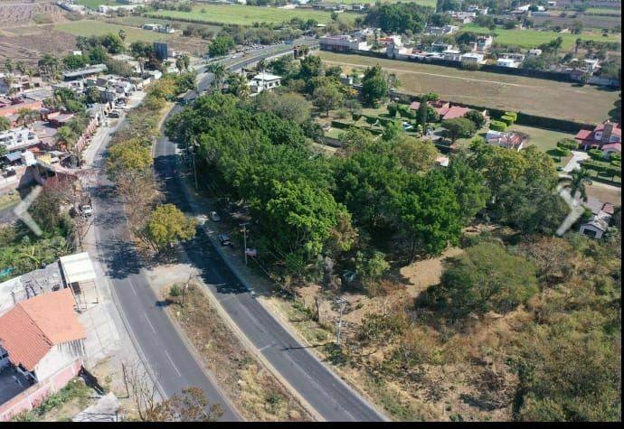 1 de 3: Vista aérea carretera federal Cuernavaca Cuautla.