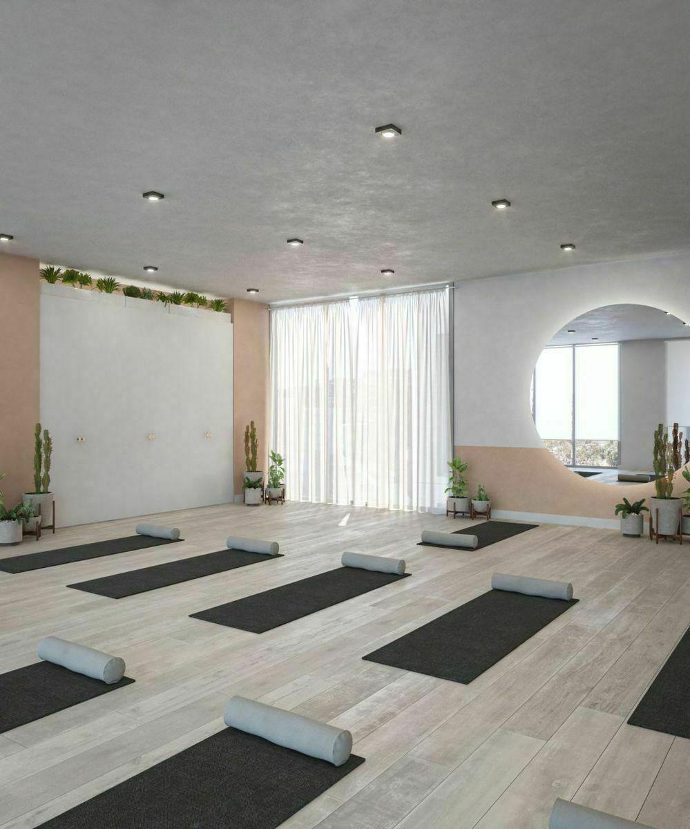 10 de 29: Salón de yoga