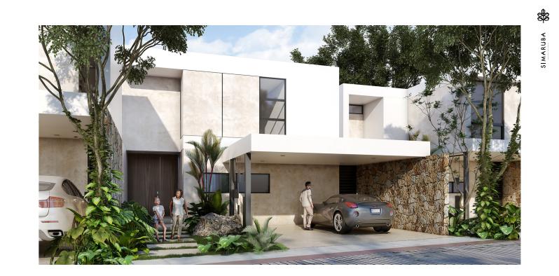 1 de 8: Casa en venta Privada Simaruba (Mod C),Temozón