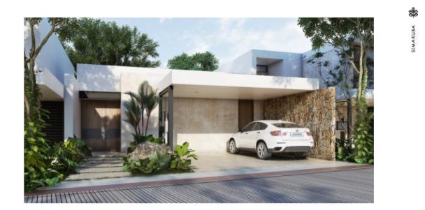 1 de 8: Casa en venta Privada Simaruba (Mod D)Temozón