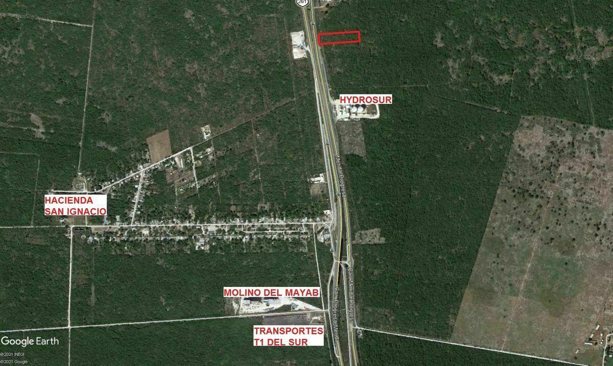 2 de 3: Plano google ubicacion del terreno