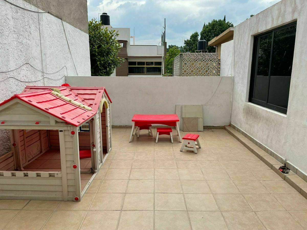 14 de 18: Útil y funcional terraza