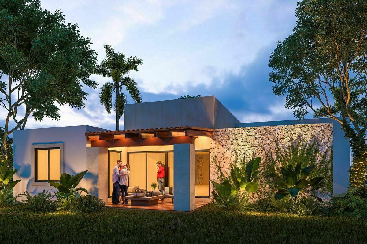 2 de 15: Casa en venta de una planta en Rocío Country LIving MERIDa