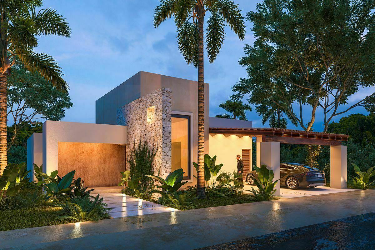 2 de 15: Casa en venta de una planta en Rocío Country LIving Tamanché