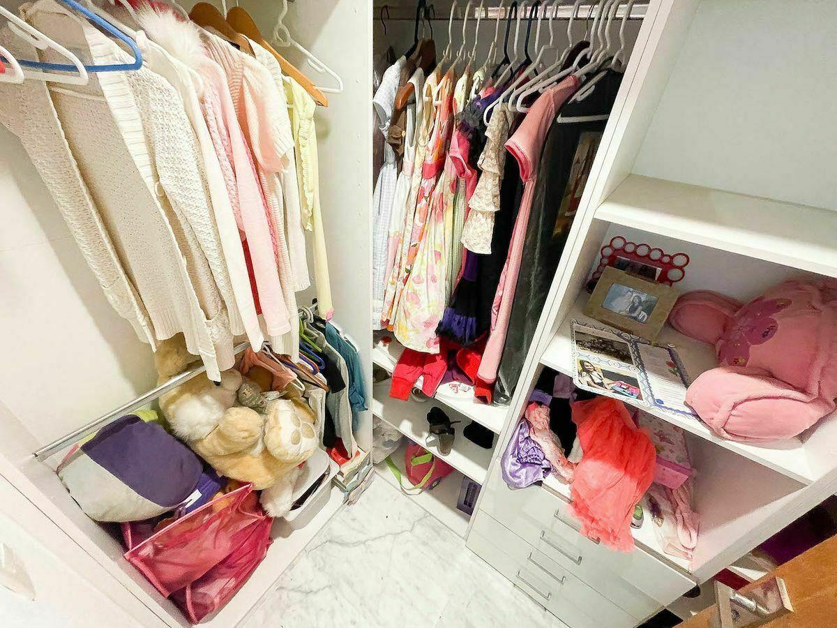 20 de 23: Walking closet habitación #2