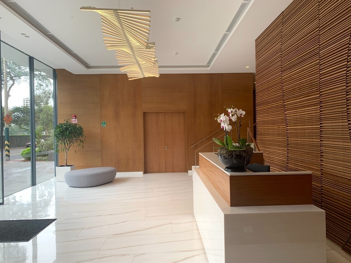 23 de 30: Elegante lobby