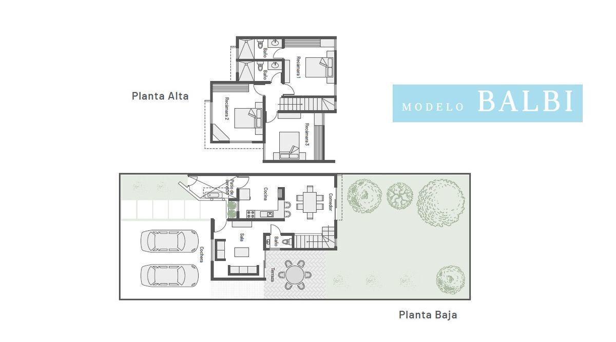 2 de 8: Casa en venta Privada Cumbres Novonorte (Mod B) Conkal
