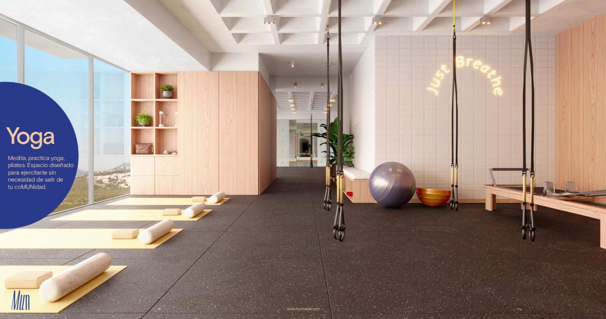 11 de 17: Sala de Yoga