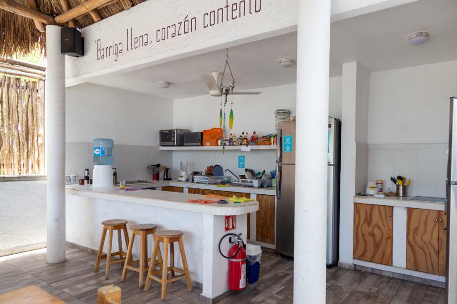 10 de 26: Cocina compartida ubicada en el Roof