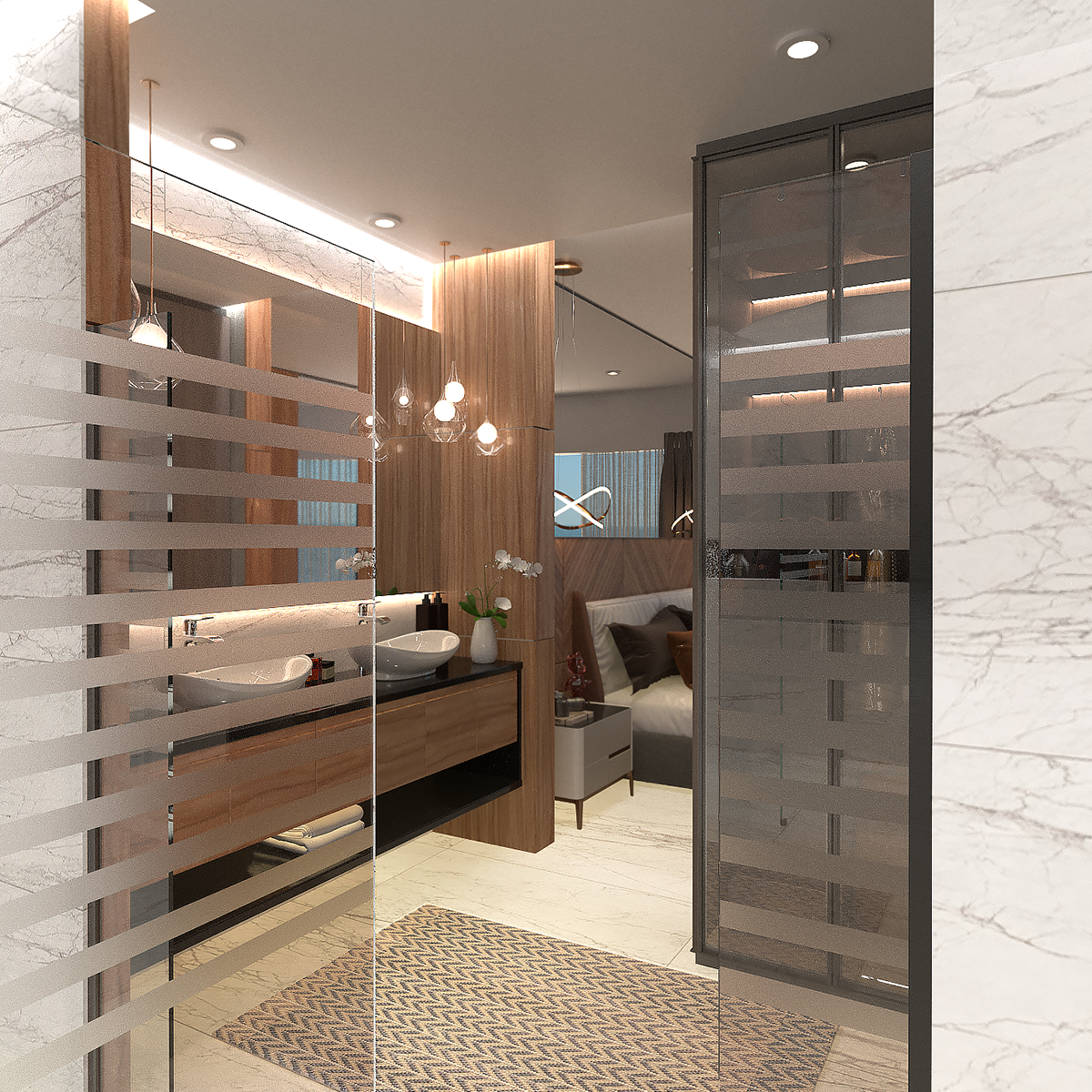 8 de 8: baño de residencia sobre el malecon master penthouse