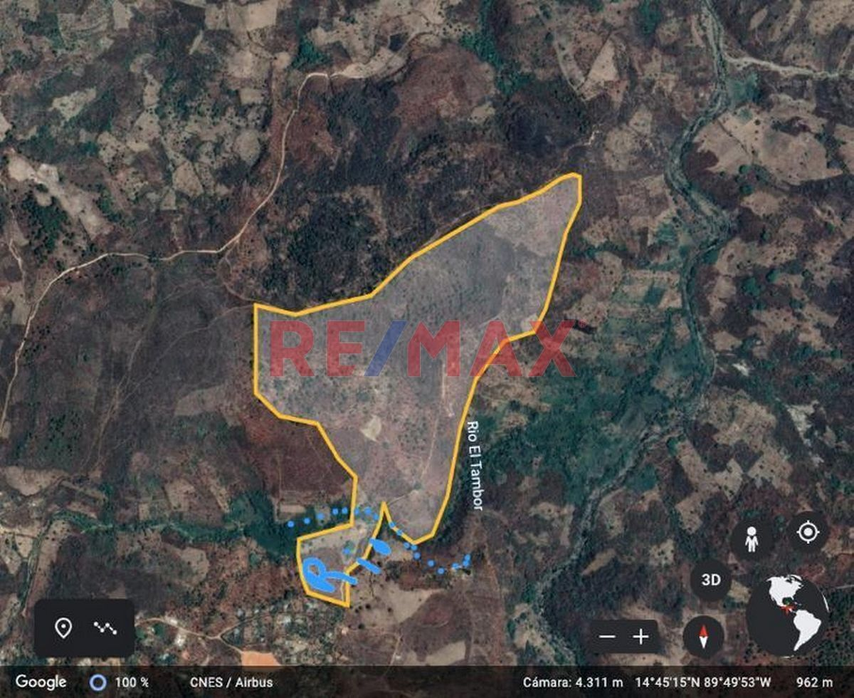 Remax real estate, Guatemala, San Pedro Pinula, Terreno de 70 Manzanas en Venta, San Pedro Pinula, Jalapa