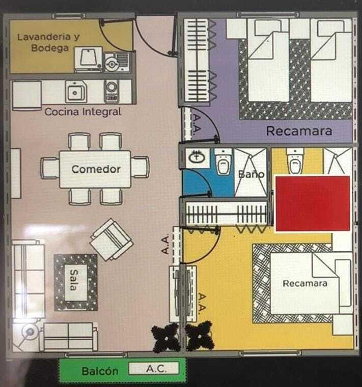2 de 9: Distribucion arquitectónica